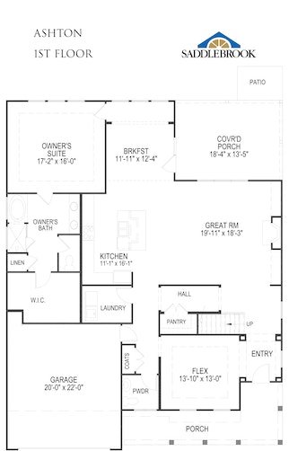 Ashton - 2D FloorPlan 1