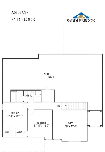 Ashton - 2D FloorPlan 2