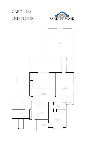 Carolina - 2D FloorPlan 2