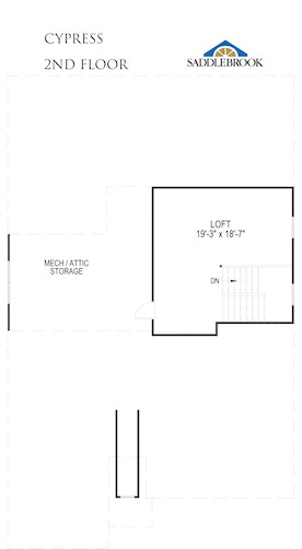 Cypress - 2D FloorPlan 2