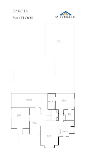 Dakota - 2D FloorPlan 2