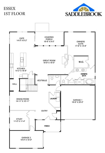 Essex - 2D FloorPlan 1