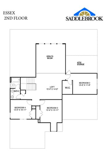 Essex - 2D FloorPlan 2