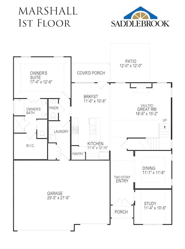 Marshall - 2D FloorPlan 1