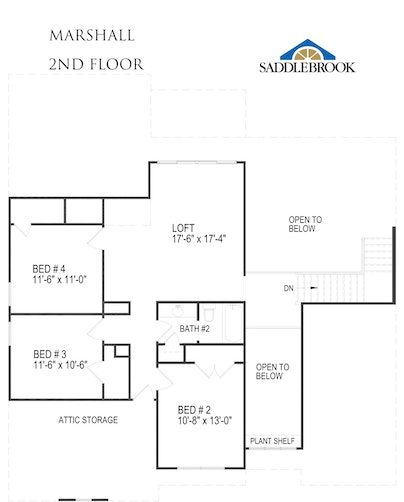 Marshall - 2D FloorPlan 2