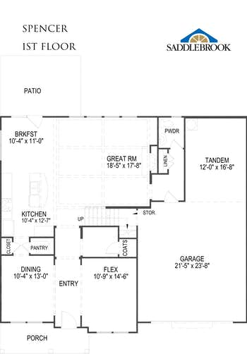 Spencer - 2D FloorPlan 1