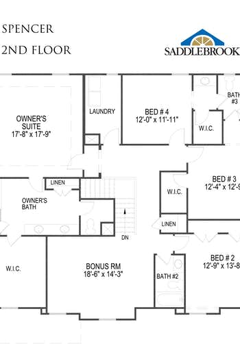 Spencer - 2D FloorPlan 2