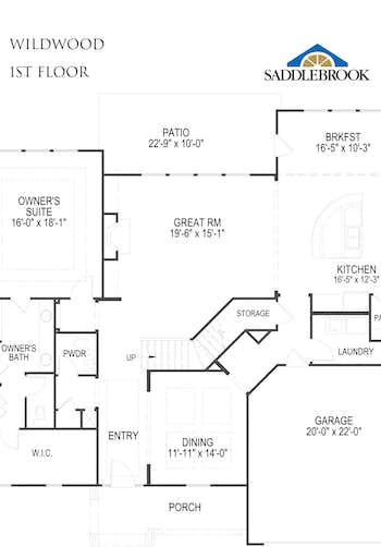 Wildwood - 2D FloorPlan 1