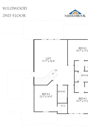 Wildwood - 2D FloorPlan 2