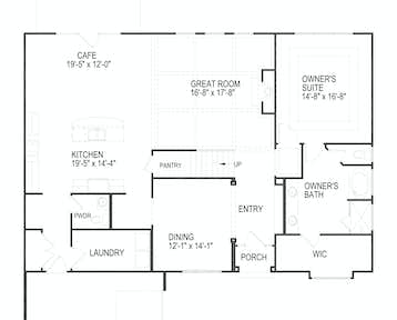 12040 Boyd Chase Blvd Floor Plan