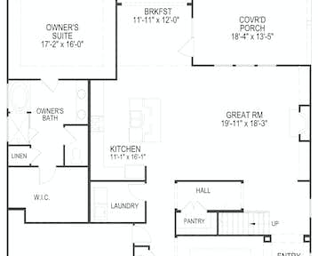 112 Broady Meadows Circle Floor Plan