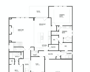 12719 Taurus Lane Floor Plan