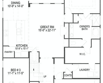 1242 Loggerhead Lane Floor Plan