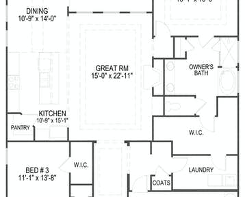 1223 Loggerhead Lane Floor Plan