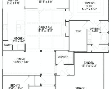 1259 Loggerhead Lane Floor Plan