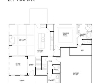 503 Goldie Lane Floor Plan