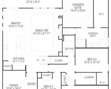 312 Eisenhower Street Floor Plan