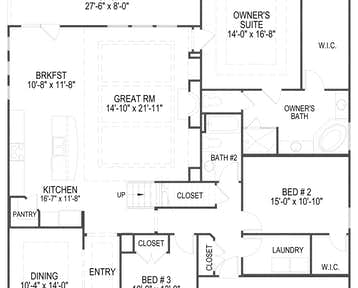 12618 Brass Lantern Lane Floor Plan