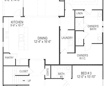 107 Broady Meadow Circle Floor Plan
