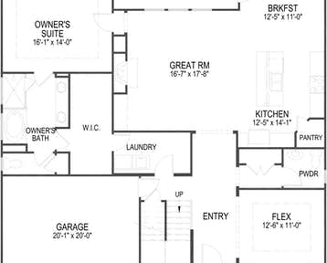 510 Goldie Lane Floor Plan