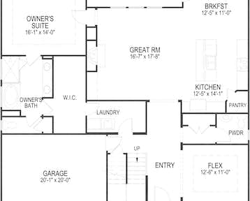 524 Vivian Lee Lane Floor Plan
