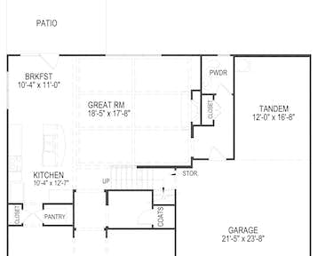 514 Goldie Lane Floor Plan